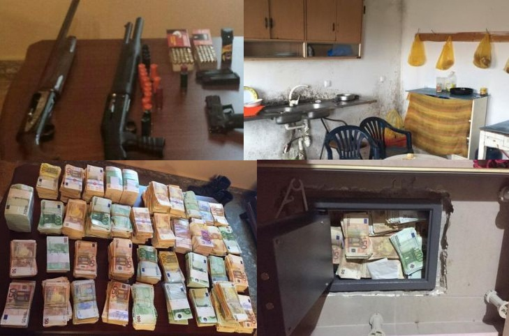ΑΧΑΪΑ: 1,6 εκατομμύρια ευρώ έκρυβαν στο πτηνοτροφείο στη Χαλανδρίτσα!!