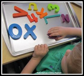 Kindergarten Magnetic Letters
