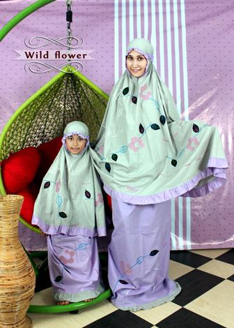 Mukena Cantik Fathiya Wild Flower