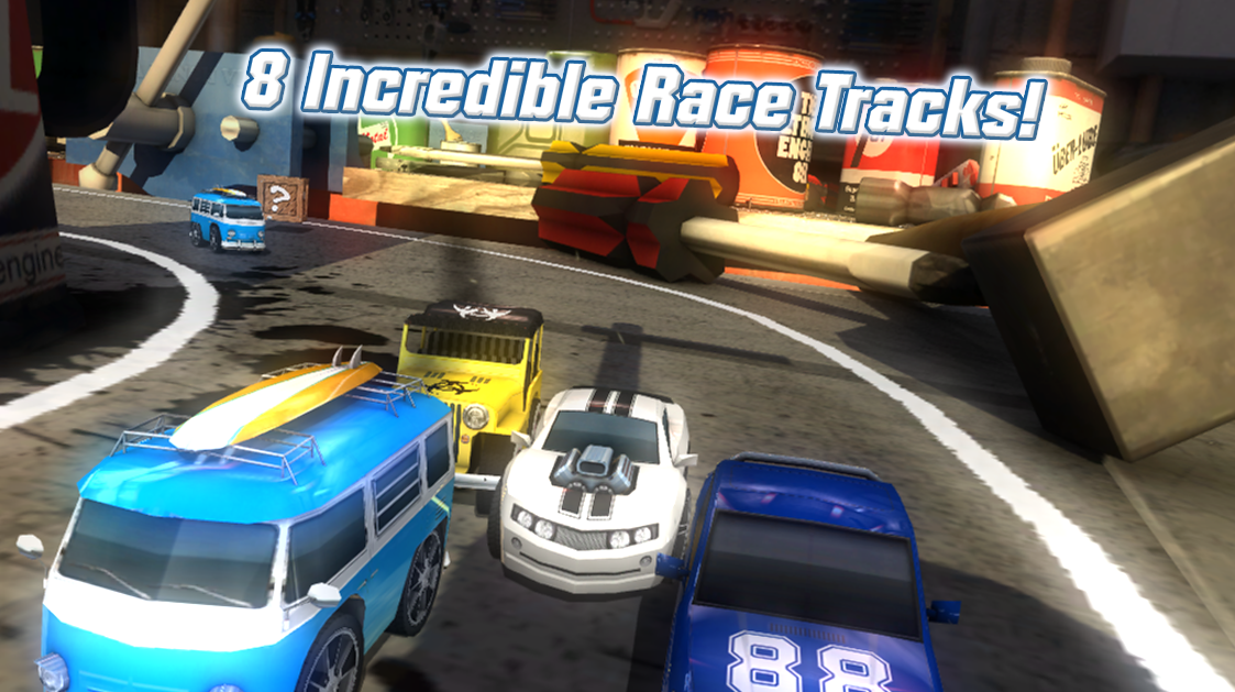 Table Top Racing (Free) - Android Game