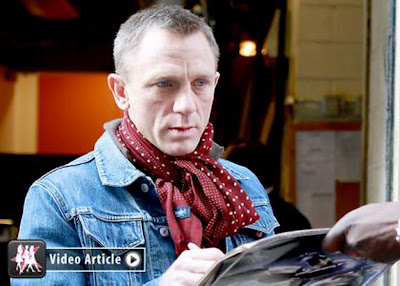 "James Bond Star Daniel Craig Talks ""The Girl with the Dragon Tattoo"""