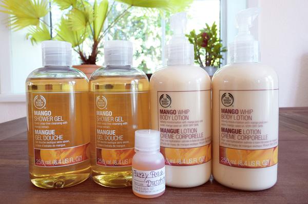 The Body Shop Mango Shower Gel Body Lotion