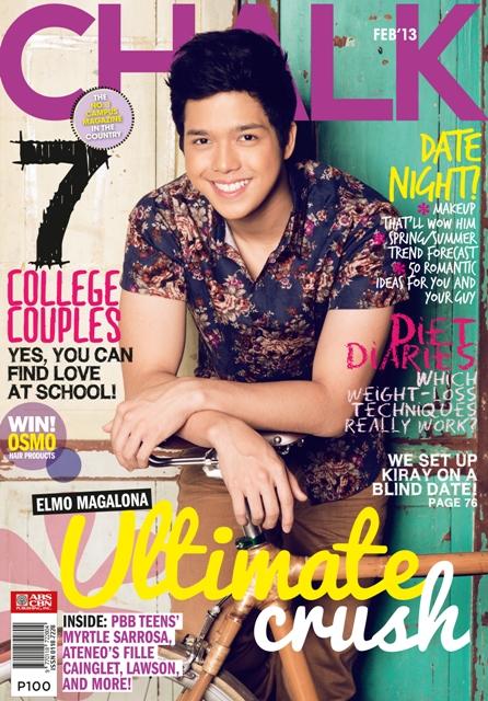 Elmo Magalona Covers Chalk Magazine February 2013 Issue