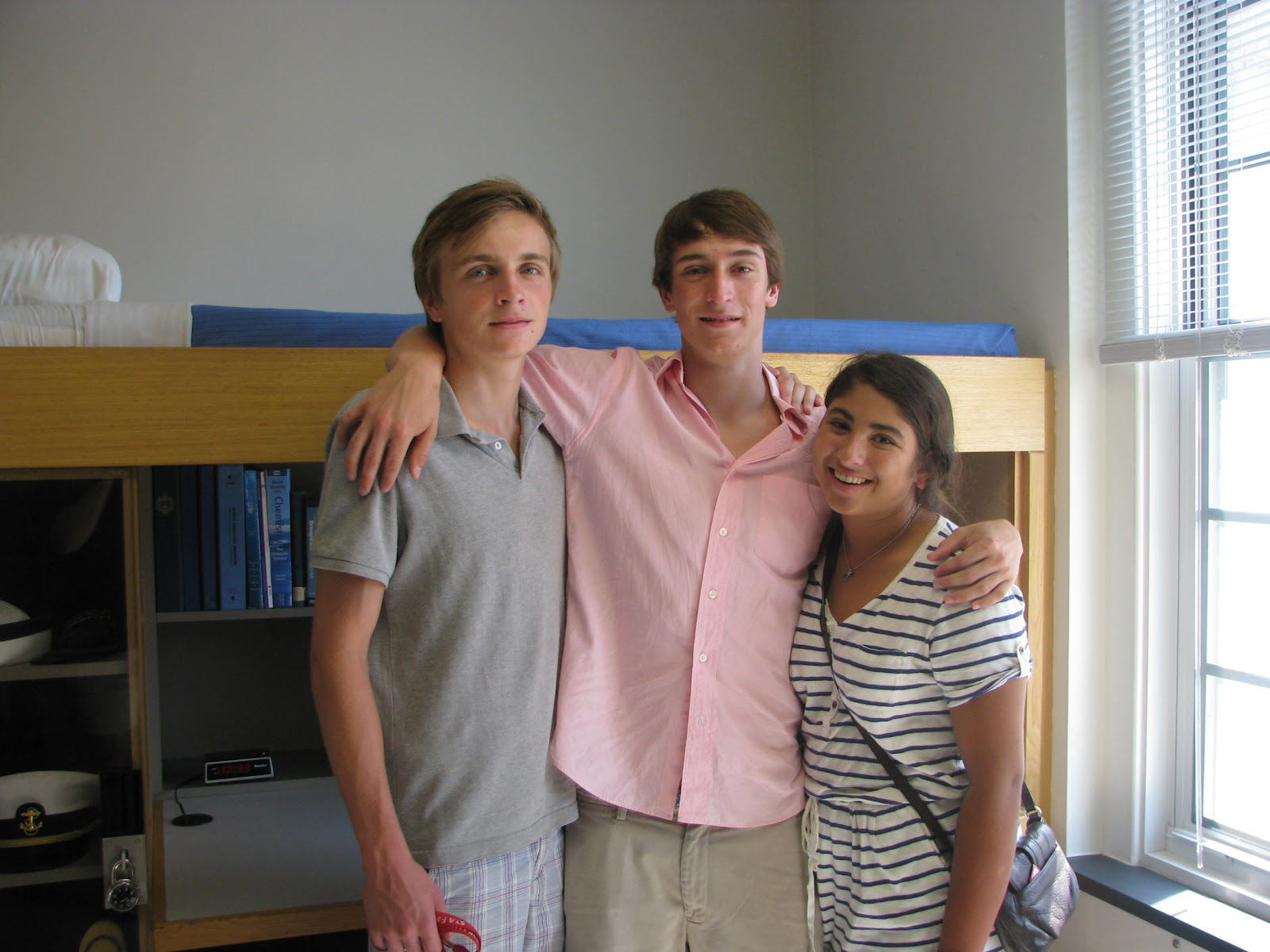 Willy D., Liam, And Olivia In The Model Midshipmenu0027s Room (no, The SPS Dorm  Rooms Are Not That Neat . . .) Part 10