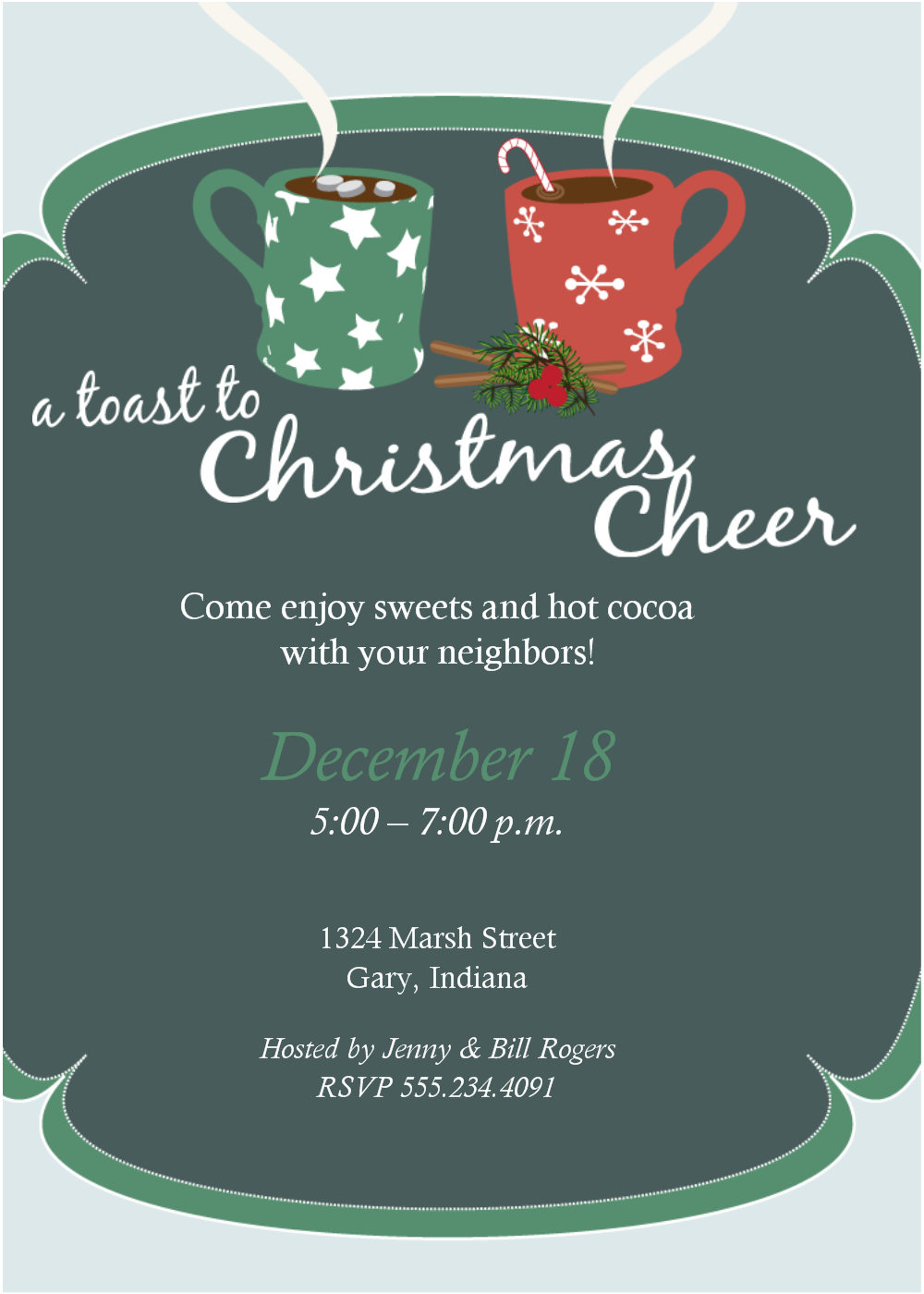 Christmas Party Invitations Templates Free – Christmas Party Invitation Templates Free Download