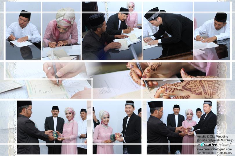 foto lamaran dan ijab kabul pernikahan