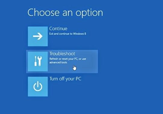 Cara Reset Windows 8 (Dilengkapi Gambar)