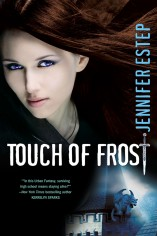 Jennifer Estep Touch of Frost Mythos Academy #1