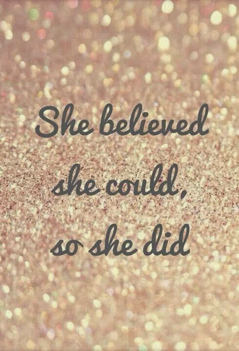 She believed she could so she did, Muffin Top, Fitness Motivation Quotes, Julie Little, Clean Eating, Spring Slim Down, 30 Days to Bikini Ready,  21 Day Fix, Max30