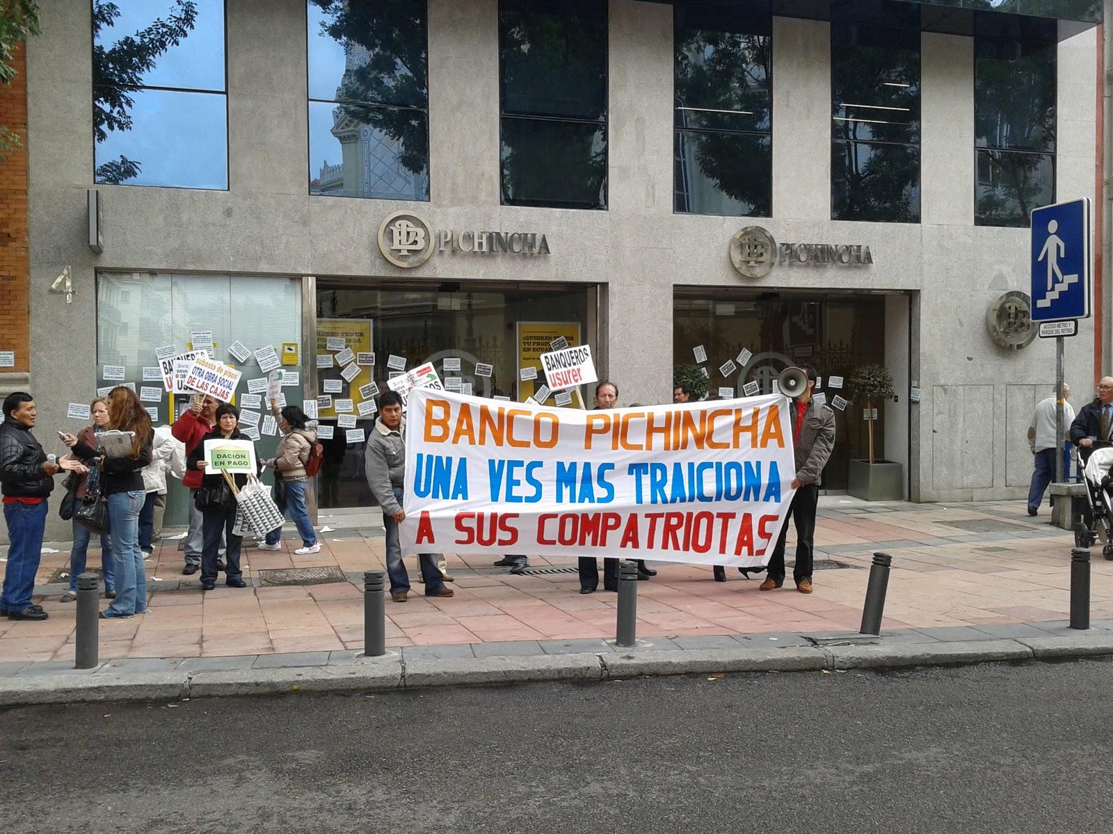 Pichincha compra en espa a cr ditos de inmigrantes for Oficinas banco pichincha