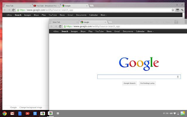 ChromeBook Aura Chrome OS
