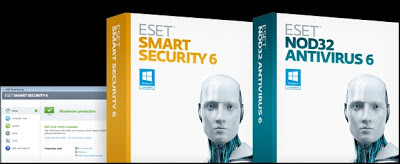 Download ESET Smart Security 6 dan NOD32 AntiVirus 6 Final
