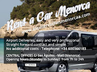 Menorca car hire with no hidden extras at Autos BonDia