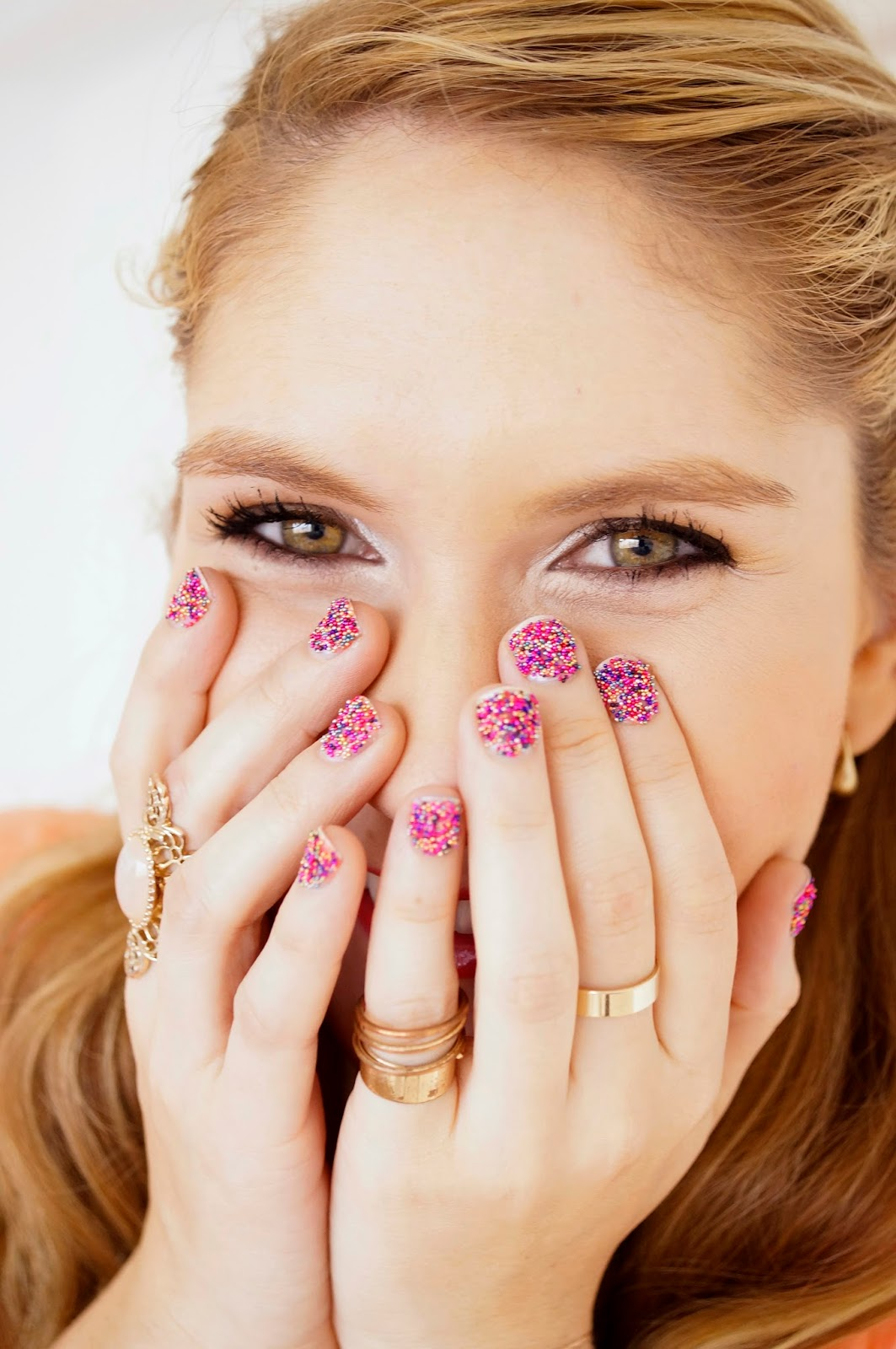 These Sprinkles nails are so cute!