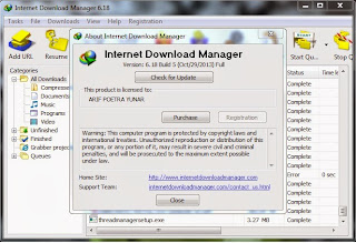 Internet Download Manager | IDM 6.18 Build 5 Terbaru Full Version