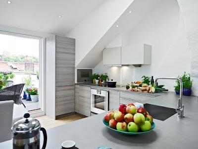Projeto da cozinha com um toque de elegância