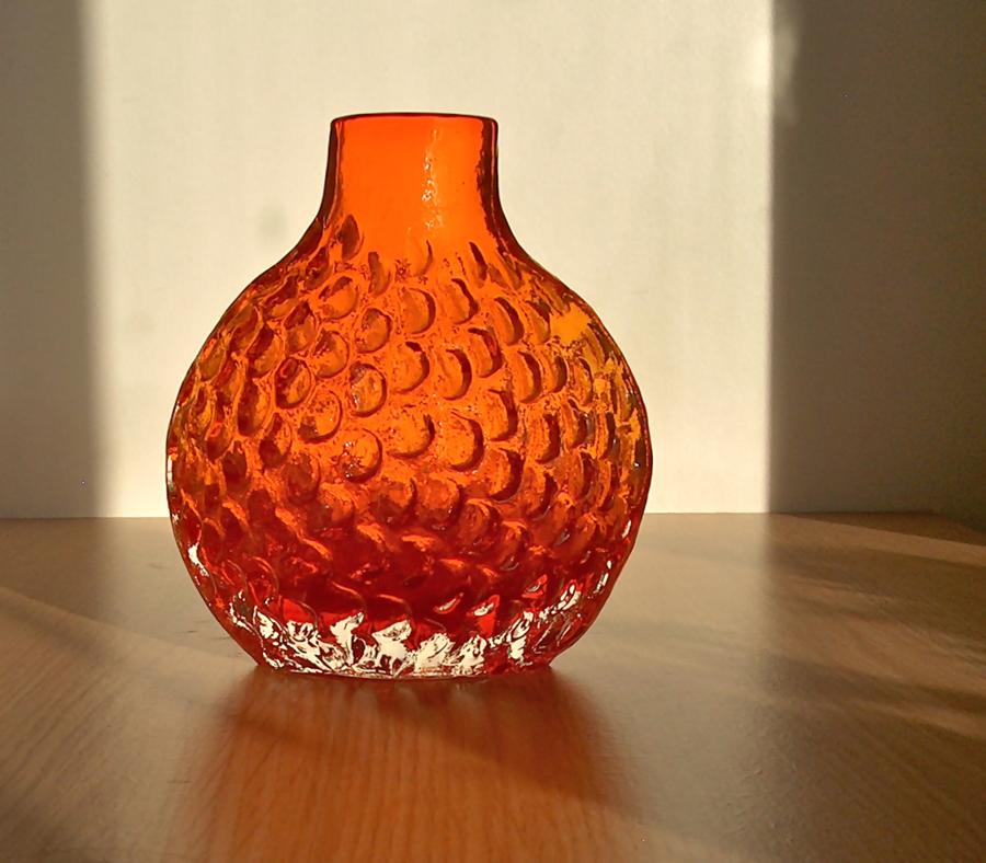 Potshots Whitefriars Glass A Tangerine Dream
