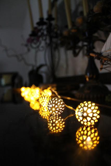 valaisinsarja, jouluvalot, valoköynnös