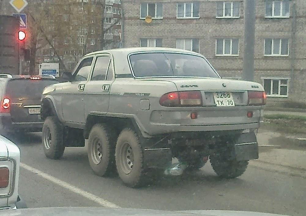 ГАЗ-3110 русская сборка на коленях