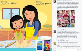 Kontes Foto Hari Ibu 2015 Berhadiah Samsung Galaxy Tab 4 di Facebook Samsung Mobile Indonesia