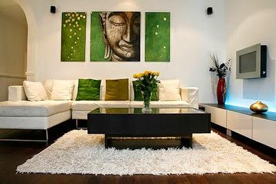Decora hogar decoraci n de salas peque as y simples for Decoracion de paredes salas pequenas