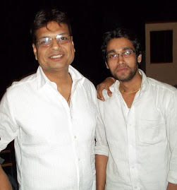 Lyricist Irshad Kamil and Rajnish Kumar