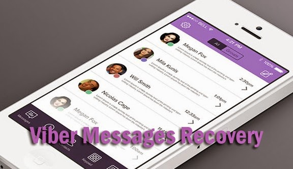 viber chat history recovery