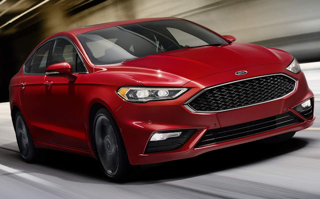 Novo Ford Fusion 2017