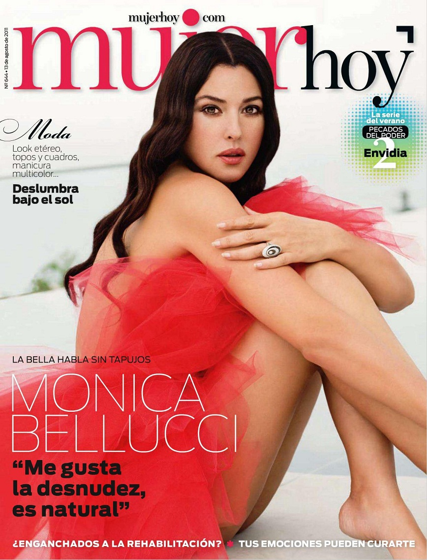 Fresh Look Monica Bellucci Pictures