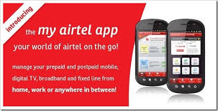 My Airtel App offer : Get Rs 25 Cashback on Recharge of Rs 50