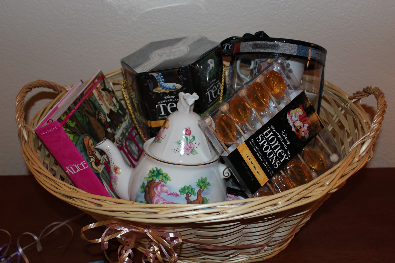 The amazing gift basket Cody put together, knowing my loves for both ...