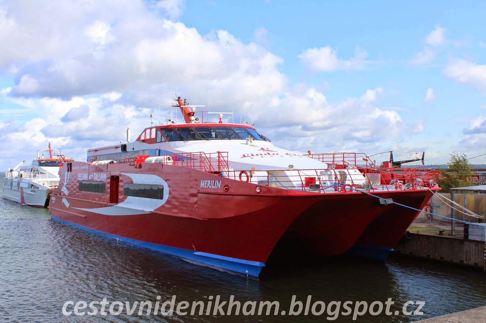 Ferry Tallinn <-> Helsinki