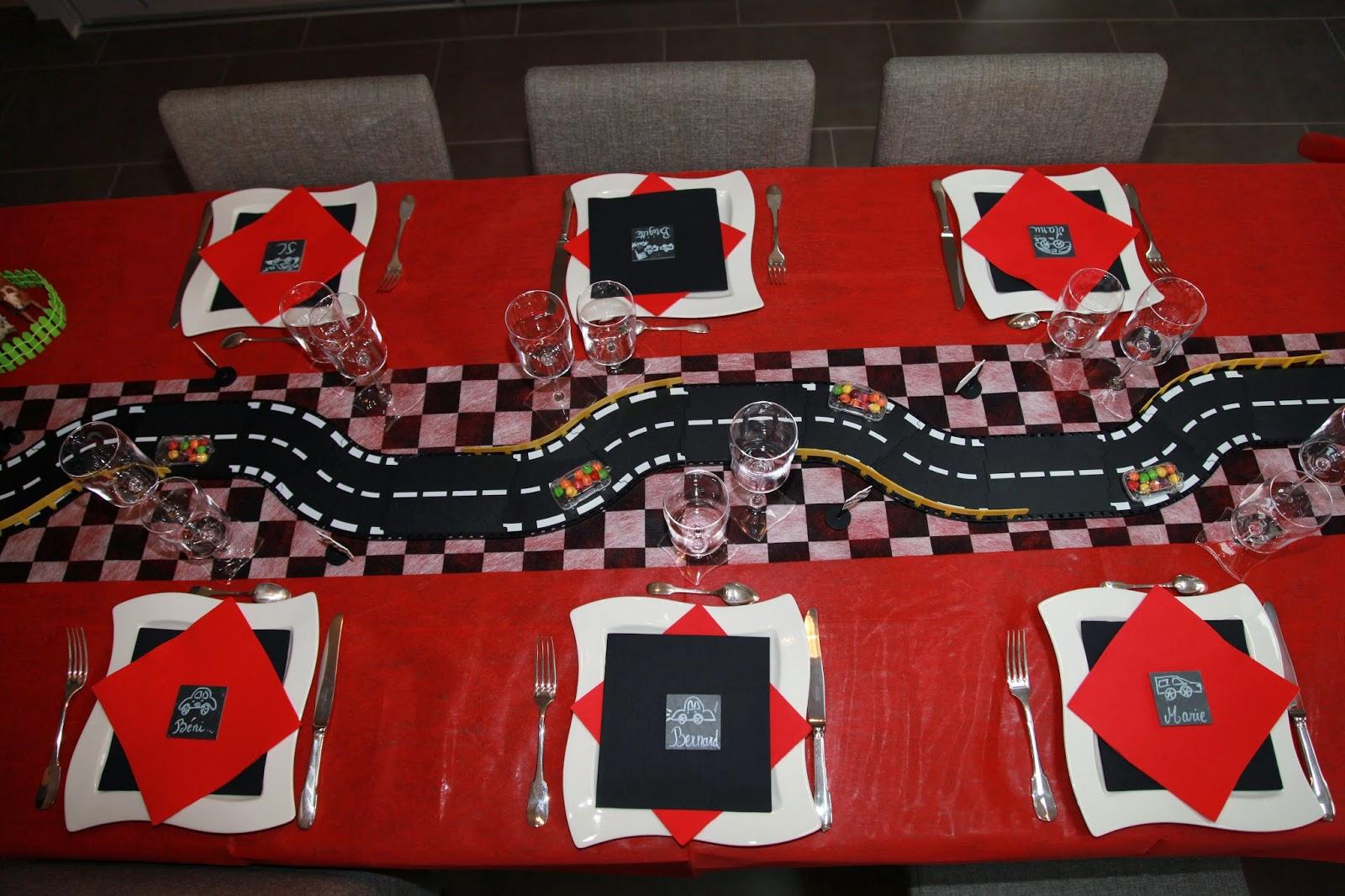 Decoration De Table Theme Voiture