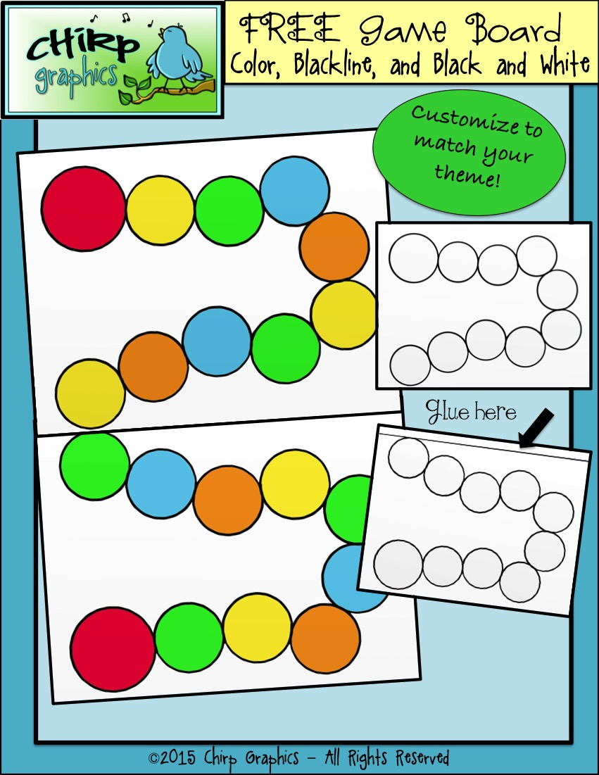 Design Your Classroom Games : Classroom freebies too free blank game board for your