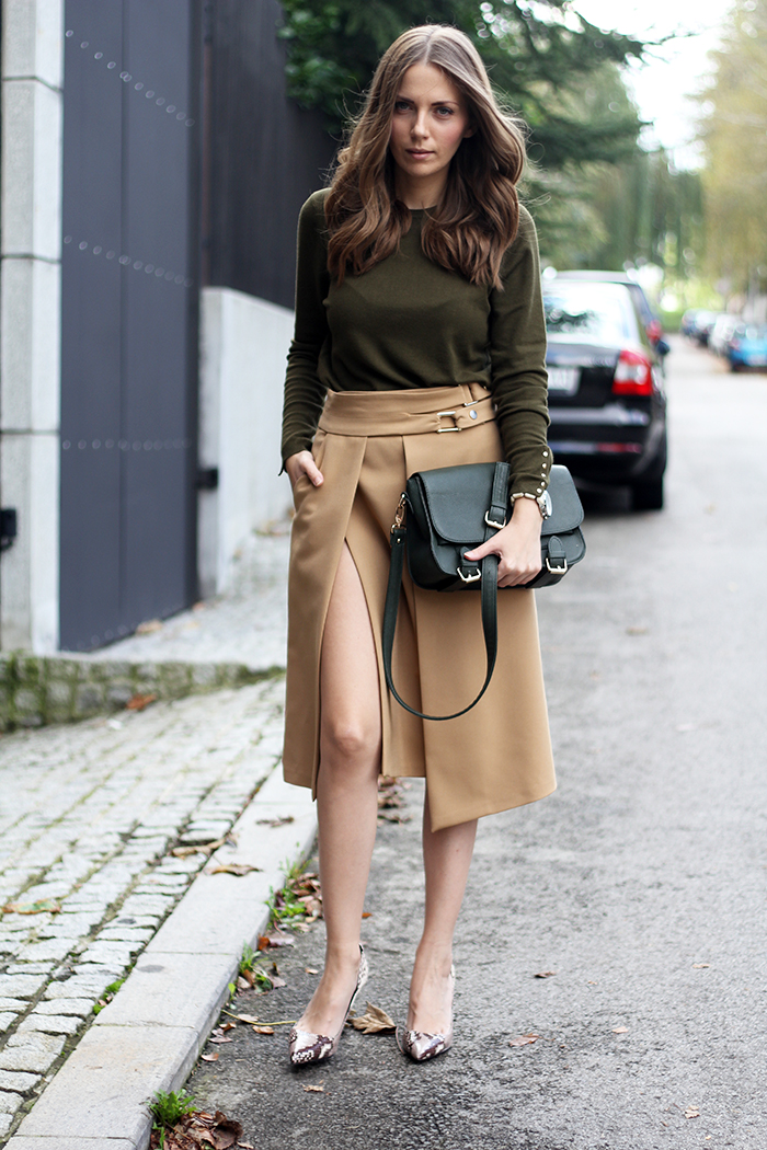 High-Slit Skirt