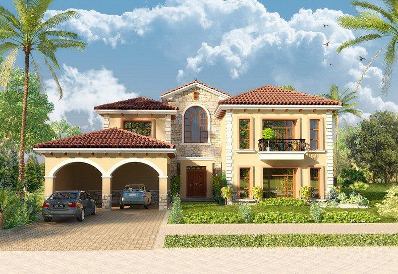 3D Front Elevation.com: Pakistan Front Elevation of House,Exterior ...
