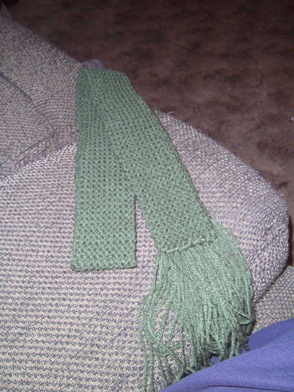 Knook Knitting Patterns : Family, Books and Crochet...Oh My!: Skinny Scarf (Free Knook Pattern)