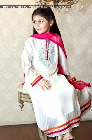 Kids Formal Dresses 2015 By Maria B Little Girls Wedding Wear