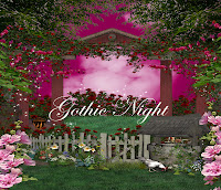 Gothic Night digital fantasy backgrounds