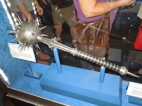 Thor 2 Hogun mace movie prop