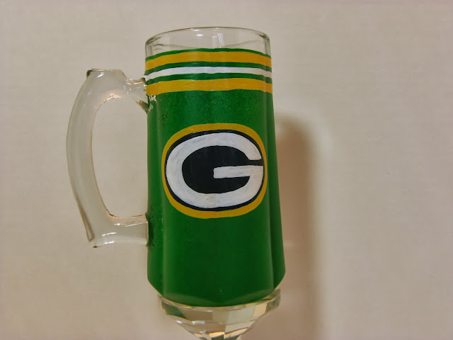 Green Bay Packers Beer Stein