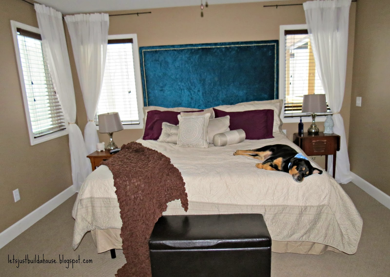 Let 39 s just build a house house tour master bedroom Can we have master bedroom in south east