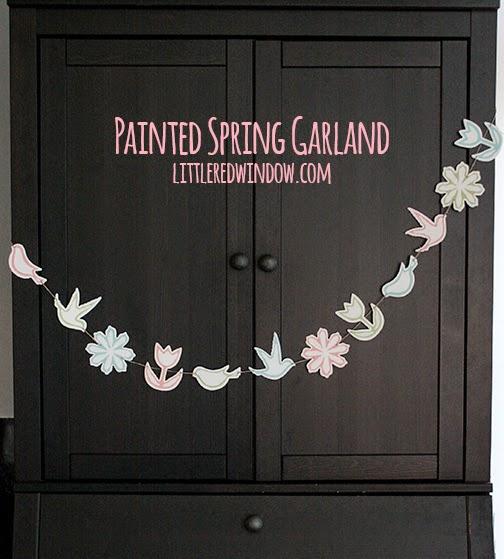 spring easter garland