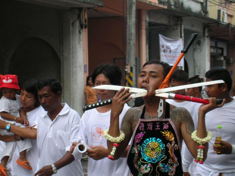 Festival vegetariano di Phuket (Vegetarian Phuket Festival)