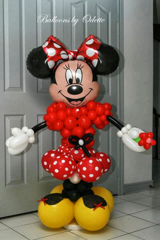 October 2013 toronto teacher mom for Balloon decoration minnie mouse