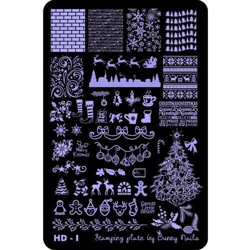 Lacquer Lockdown - Bunny Nails nail art stamping plates, nail art stamping blogs, halloween themed nail art, halloween nail art stamping plates, new stamping plates 2014, new nail art stamping plates 2014, new nail art image plates 2014, halloween, cute nail art ideas, diy nail art, christmas nail art, holiday nail art, festive nail art, elves, christmas