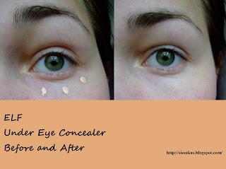 Sissubeauty: ELF Studio Under Eye Concealer and Highlighter