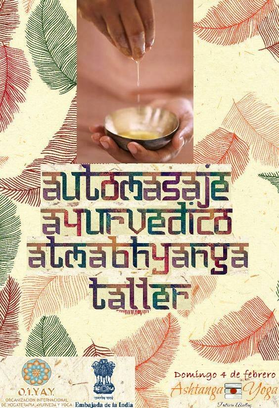 Taller de auto-masaje ayurvédico