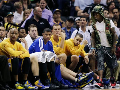 Lil Wayne warriors game