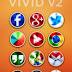 Icon Pack - VIVID v2 Apk